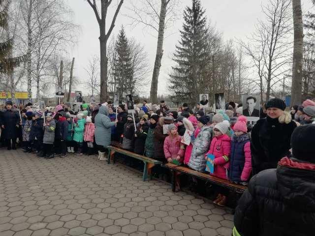 Сегодня 5.02.2020 г.в 13-00 состоялся митинг, посвященный 77-й годовщине освобождения Старооскольского городского округа от фашистских захватчиков.
